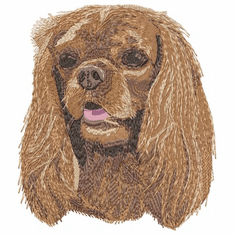 ckcs006 Cavalier King Charles Spaniel (small or large design)