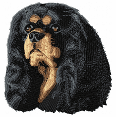 ckcs011 Cavalier King Charles Spaniel (small or large design)