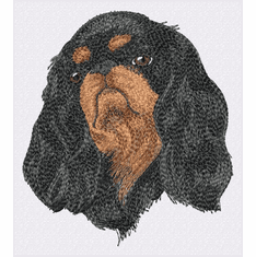 ckcs026 Cavalier King Charles Spaniel (small or large design)