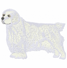 clumber002 Clumber Spaniel (small or large design)