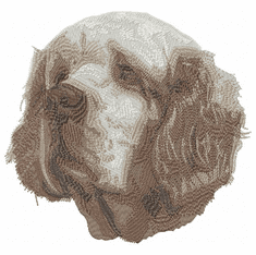 clumber003 Clumber Spaniel (small or large design)