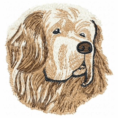 clumber004 Clumber Spaniel (small or large design)