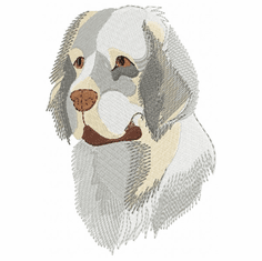 clumber005 Clumber Spaniel (small or large design)