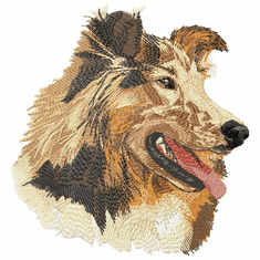 collie026 Collie (small or large design)