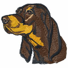 coonhound001 Coonhound  (small or large design)