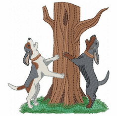 coonhound006 Coonhound  (small or large design)
