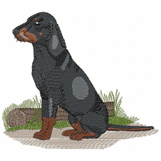 coonhound013 Coonhound  (small or large design)