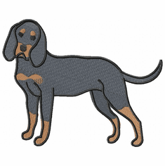 coonhound019 Coonhound  (small or large design)