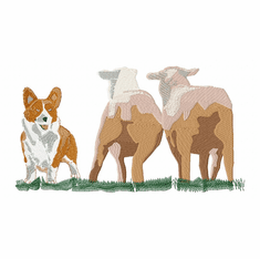 corgi007 Welsh Corgi (small or large design)