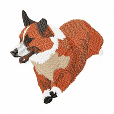 corgi013 Welsh Corgi (small or large design)