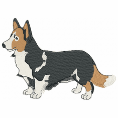 corgi018 Welsh Corgi (small or large design)
