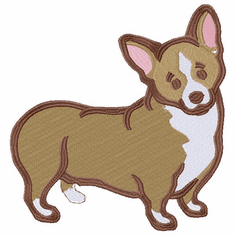 corgi037 Welsh Corgi (small or large design)