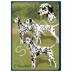 Dalmatian Playing Cards