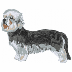 dandie003 Dandie Dinmont Terrier (small or large design)