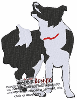 <font color=Black>DOG BREED</font color>  Embroidered Designs on clothing, bags and chairs