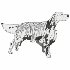 engsetter001 English Setter (small or large design)