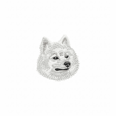 eskimo001 American Eskimo Dog (small or large design)