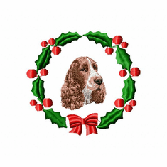 ess1wreath English Springer Spaniel (small or large design)