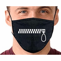 Face Mask with Decal