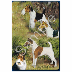 Fox Terrier Playing Cards