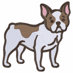 frenchbull012 French Bulldog (small or large design)