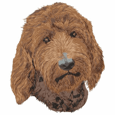 goldendoodle005 Golden Doodle (small or large design)