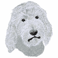 goldendoodle006 Golden Doodle (small or large design)