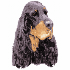 gord007 Gordon Setter (small or large design)