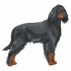 gordon001 Gordon Setter  (small or large design)