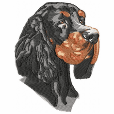 gordon002 Gordon Setter  (small or large design)
