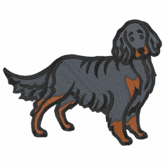 gordon004 Gordon Setter  (small or large design)