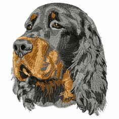 gordon005 Gordon Setter  (small or large design)