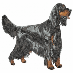 gordon006 Gordon Setter  (small or large design)