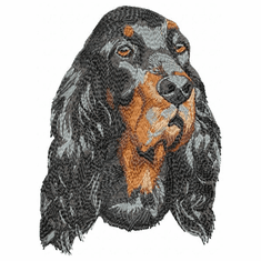 gordon008 Gordon Setter  (small or large design)