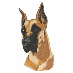 greatdane001 Great Dane (small or large design)