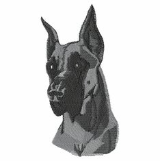 greatdane003 Great Dane (small or large design)