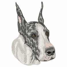 greatdane032 Great Dane (small or large design)