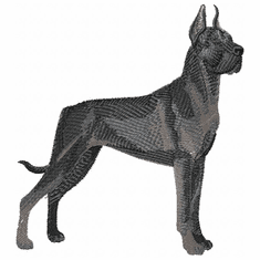 greatdane035 Great Dane (small or large design)