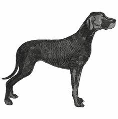 greatdane038 Great Dane (small or large design)