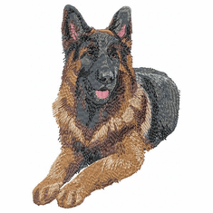 gsd002 German Shepherd Dog (small or large design)