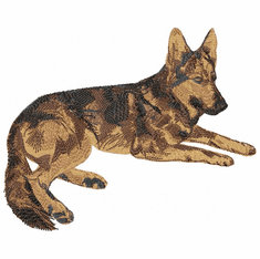 gsd006 German Shepherd Dog (small or large design)