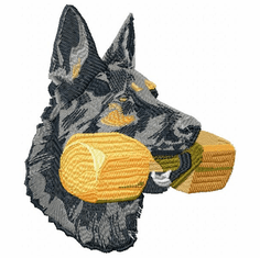 gsd013 German Shepherd Dog (small or large design)
