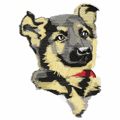 gsd031 German Shepherd Dog (small or large design)