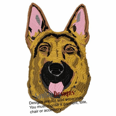gsd035 German Shepherd Dog (small or large design)