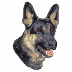 gsd040 German Shepherd Dog (small or large design)
