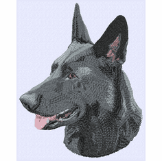 gsd063 German Shepherd Dog (small or large design)
