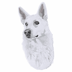 gsd071 German Shepherd Dog (small or large design)