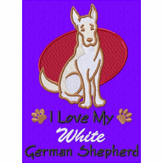 gsd077 German Shepherd Dog (small or large design)