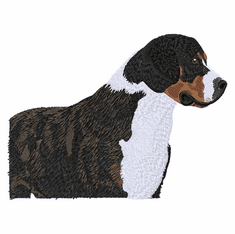 gsmd003 Greater Swiss Mountain Dog (small or large design)