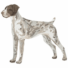 gsp001 German Shorthaired Pointer (small or large design)